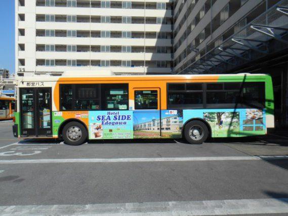 【東京都交通局】都バス ラッピング広告