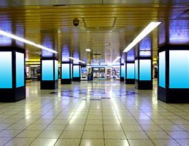 駅ビジョン(デジタルサイネージ) イメージ